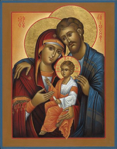 Holy Family by Martina Eichhorn
