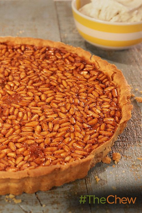 This sweet Honey and Pine Nut Tart treat is perfect for any time of ...
