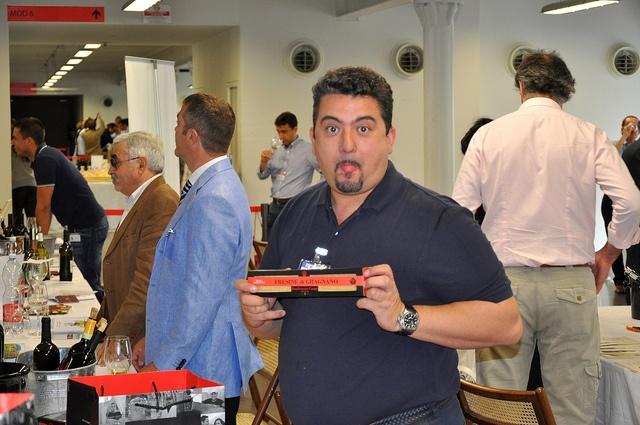 @giudeicampi e la sua pasta di #gragnano a #terroirvino2011