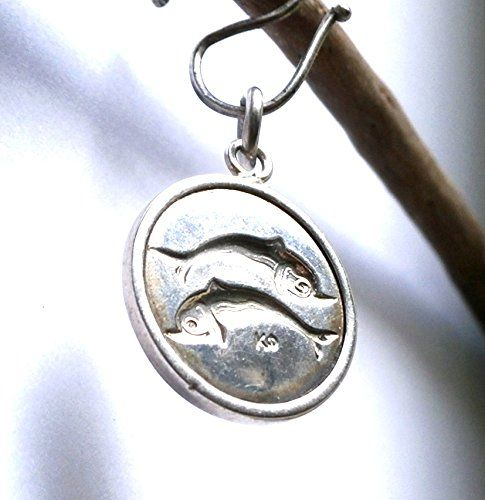 2 Dolphins Ancient Small Silver Pendant     Pressed - Handmade     925 Sterling Silver     Diameter 27mm     Weight: 4.3g    2 Dolphins Ancient Small Silver Pendant Konstantis Jewelry http://www.amazon.com/dp/B00QZJOW7M/ref=cm_sw_r_pi_dp_2JGJub07XEYVV