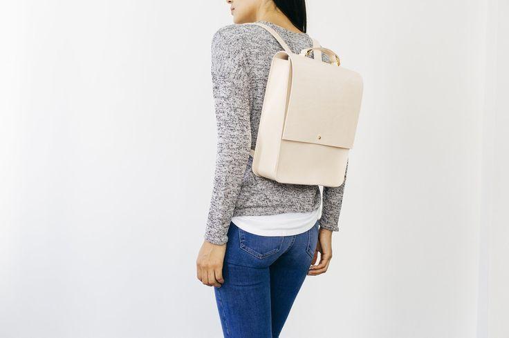 Backpack - Emma Leather Backpack