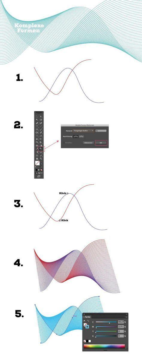How to draw … in adobe Illustrator #Hair #Design #Tutorial #Zeichnen #AdobeIllustrator #Typografie www.rauschsinnig.de – Nerdinger