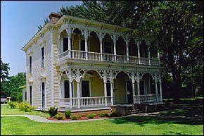 Historic Benjamin Black House in Searcy, Arkansas