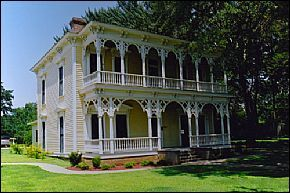 Historic Benjamin Black House in Searcy, Arkansas