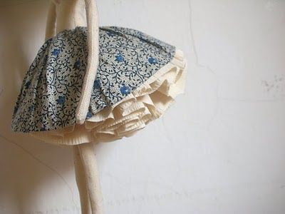 best doll skirt. I love Evangelione's work. Love. #handmadedolls #dolls #ragdolls