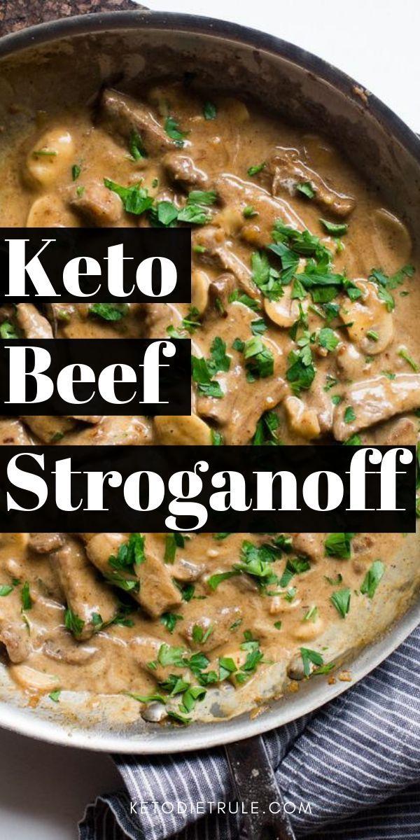 Das beste klassische Rezept für kohlenhydratarme ketogene Ernährung. Gutes G…
