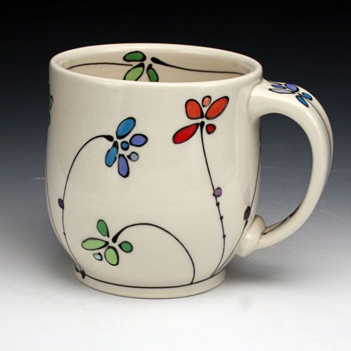 25 beste idee n over painted mugs op pinterest mok for How to paint a mug