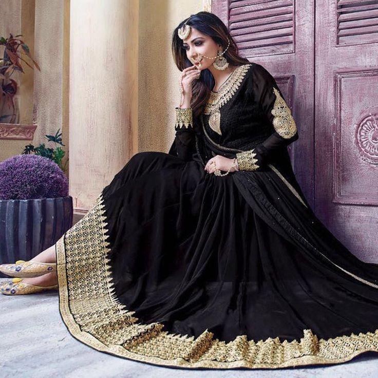 Bollywood Designer Pakistani Indian Salwar Kameez Anarkali Gown Wedding Parties #Handmade #SalwarKameez