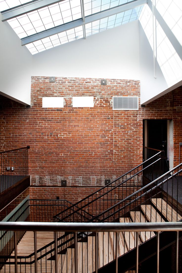 1000 images about community centre on pinterest for Brick home construction costs