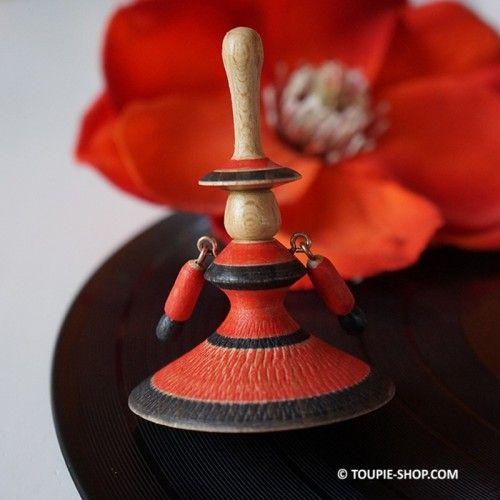 Jeux de toupie Flamenco Toupies en Bois Artisanal Fabriqué en France Toupie Shop Magasin Jouet