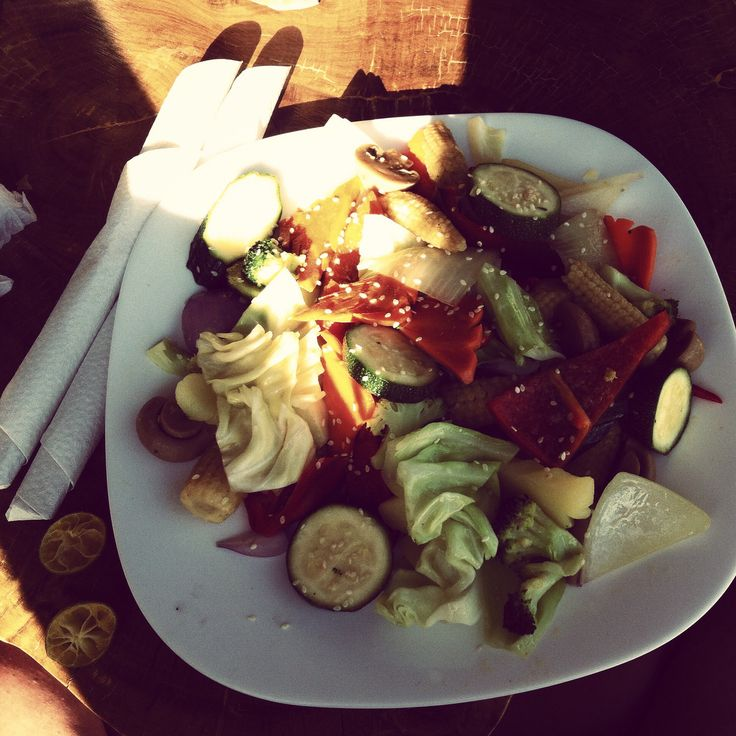 Delight in this vegetarian dish at Spider House | West Cove, Boracay, Philippines