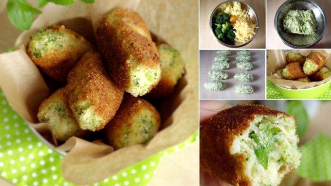 Bramborovo brokolicové krokety | NejRecept.cz