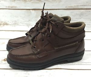 Timberland Gore Tex Brown Leather Womens Hiking Boots 8 5M Style 38345 | eBay