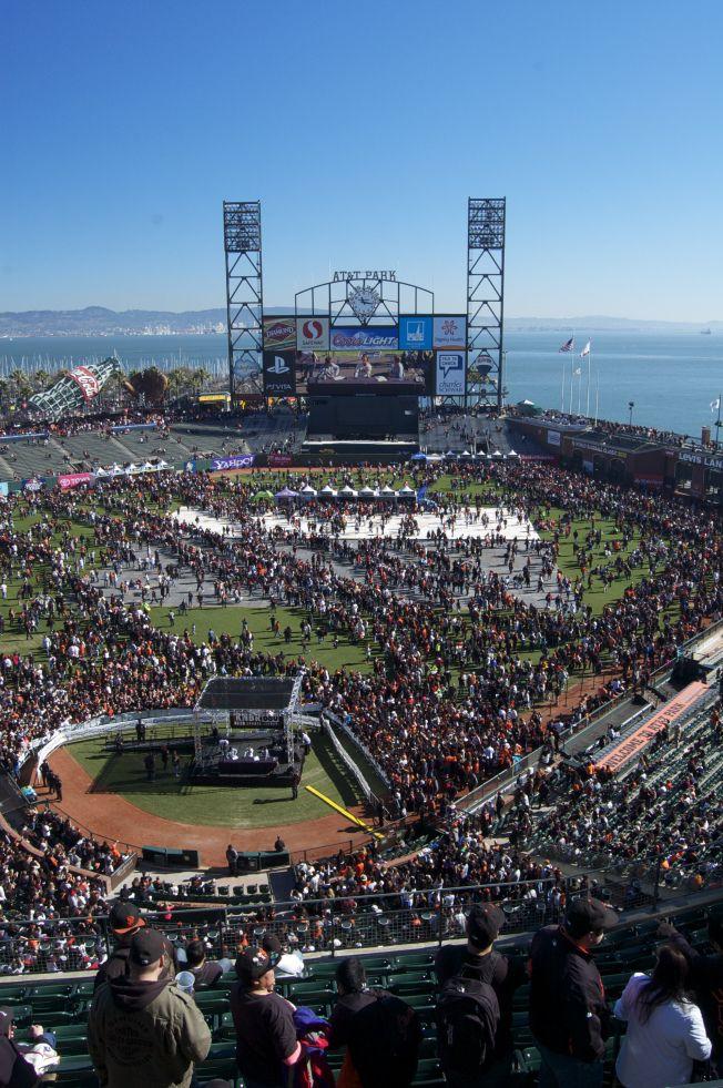 San Francisco Giants Fan Fest2013
