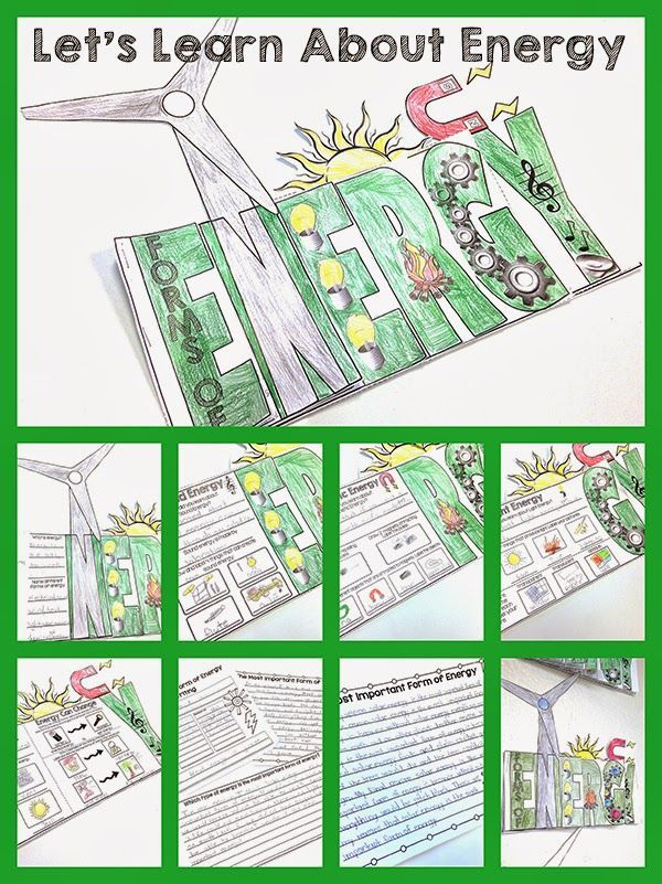 Let's Learn About Energy: a science Flip Flap Book! Simply Skilled in Second