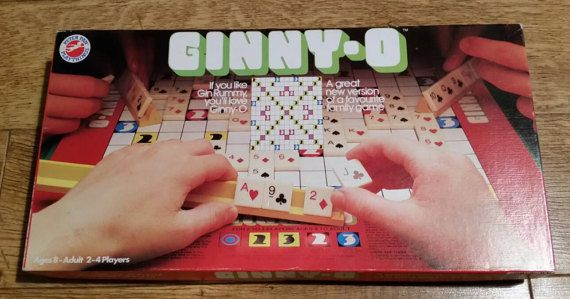 Vintage Ginny O Board Game 1983 By Peter Pan by OnyxCollectables