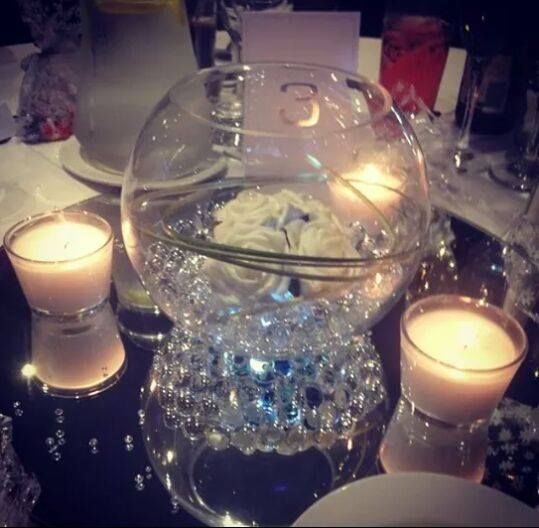 fish bowl and mirror centerpieces for wedding 10 gym decorations for a wedding reception outdoor decorations for a wedding reception