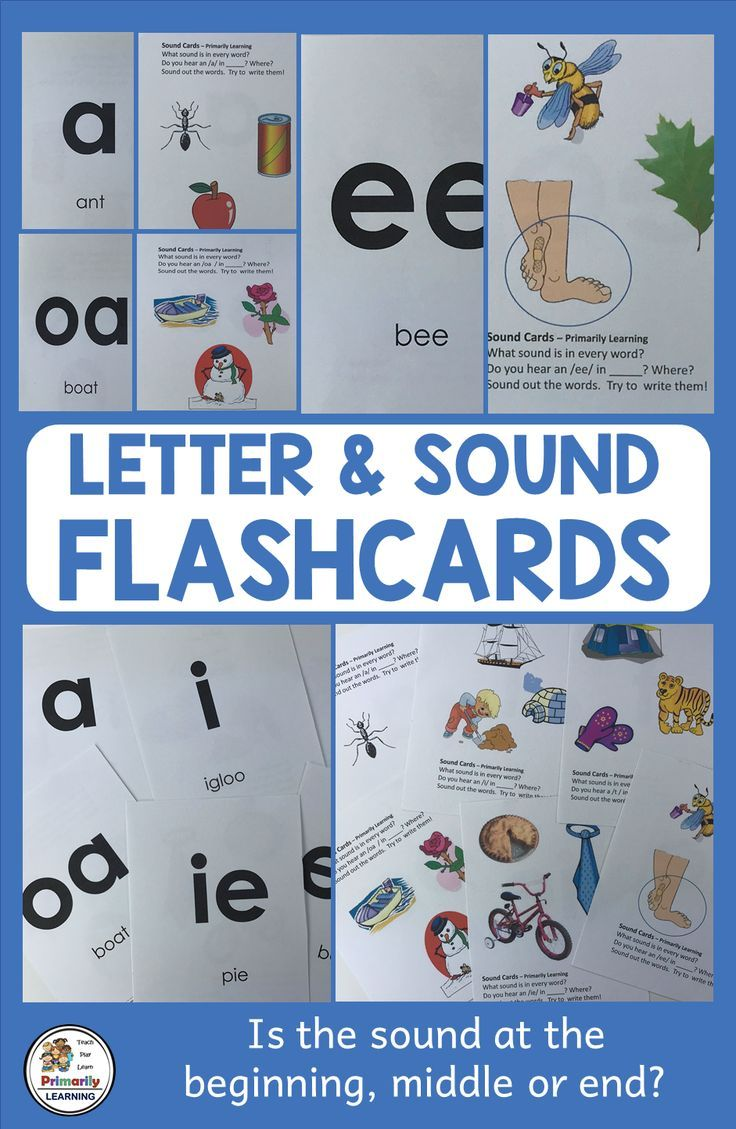 Letter and Sound Practice supports Jolly Phonics