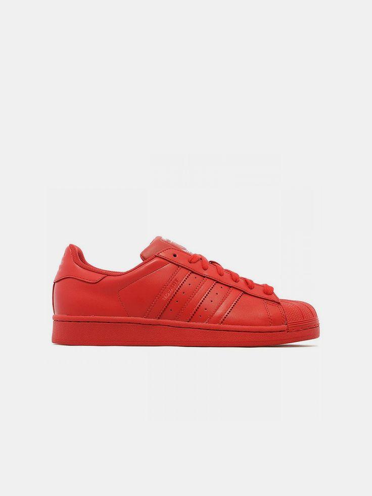 ADIDAS X PHARRELL , Kadın Superstar Supercolor Red #shopigo#shopigono17#shoponline#womenswear#sneakers