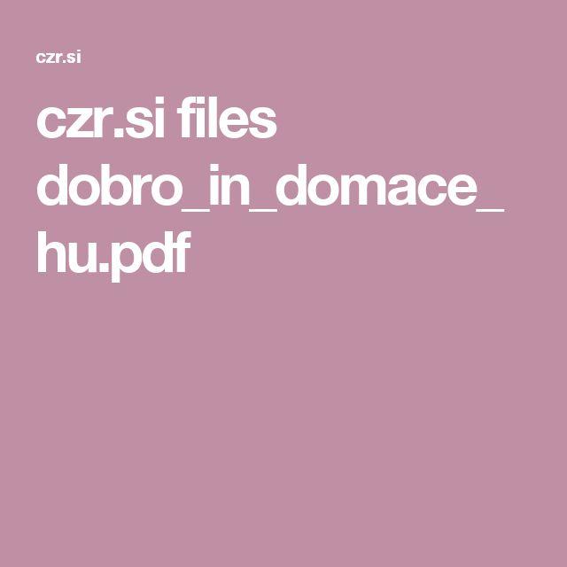 czr.si files dobro_in_domace_hu.pdf