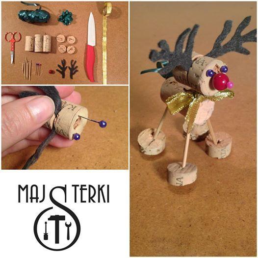 DIY #RudolphTheRedNosedReindeer, #Christmas