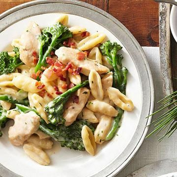 Diabetic Recipes to also help prevent this dreadful disease! Chicken and Broccolini Cavatelli