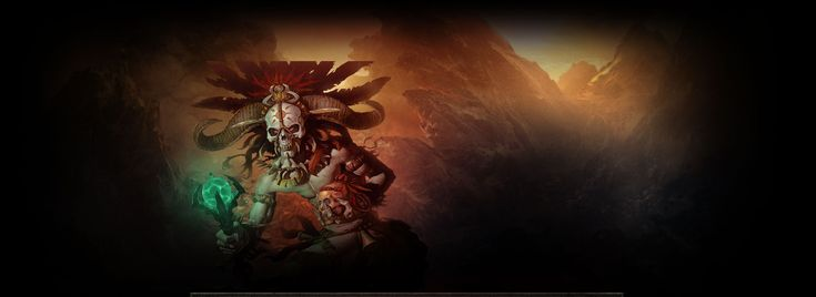 The Witch Doctor is one of the new character classes for Diablo III. The Witch Doctor possesses several elements of previous Diablo II character classes, namely the Sorceress, Druid and Necromancer.