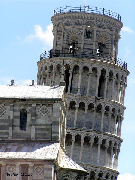 Torre de Pisa, detalle