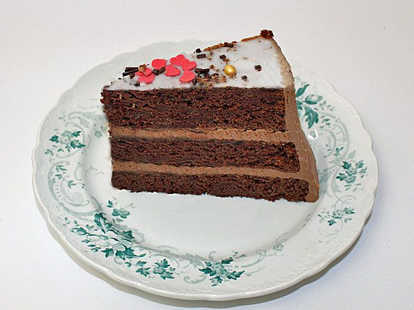 Chokoladekage - Molly's