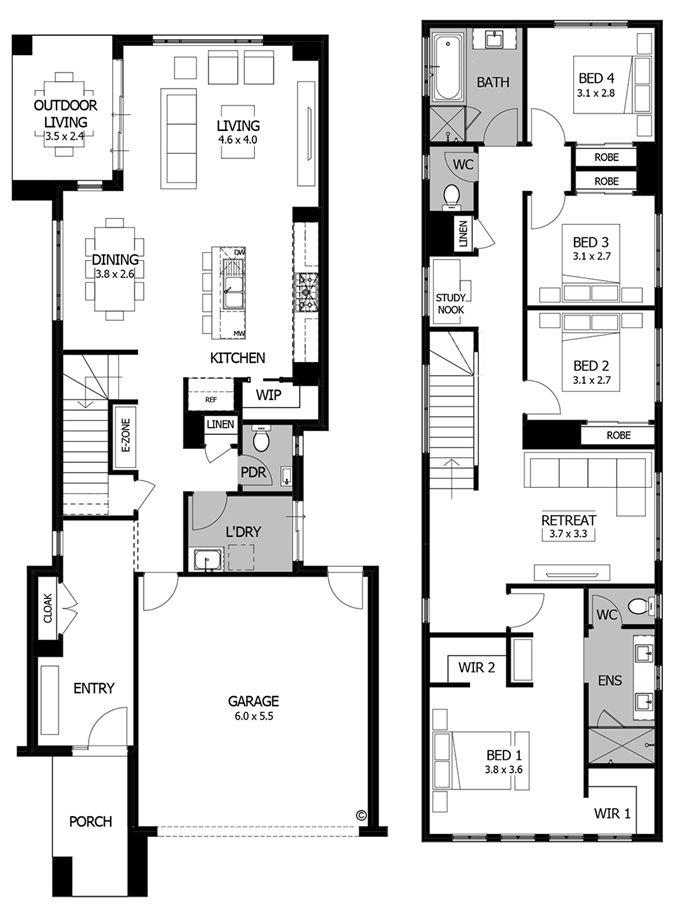 Saxon - floorplan
