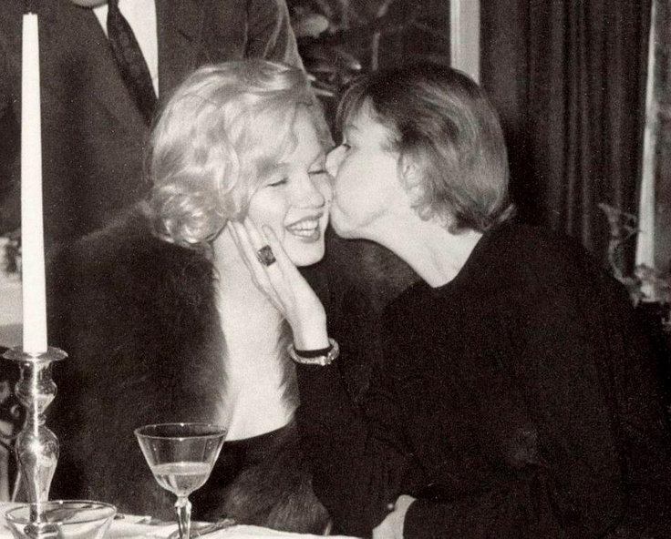 Marilyn Monroe and Carson McCullers