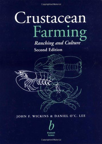 "Review: Crustacean Farming  Crustacean farming is one of the world's fastest growing forms of aquaculture. It is a high-risk industry with potential for both substantial profits and serious losses.   ""Crustacean Farming,"" authored by John Wickins and Dan Lee, has been a principal reference for the commercial cultivation of shrimp, prawns, caryfish, lobsters, crabs and spiny lobsters.  http://www.farmersmarketonline.com/bk/CrustaceanFarming.htm"