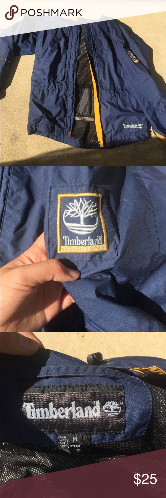 Timberland jacket The zipper is broken Timberland Jackets & Coats Trench Coats