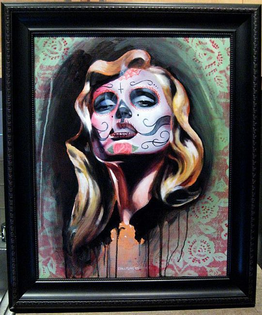 Day of the Dead Art | ... inspired by the Mexican holiday Día de los Muertos- Day of the Dead