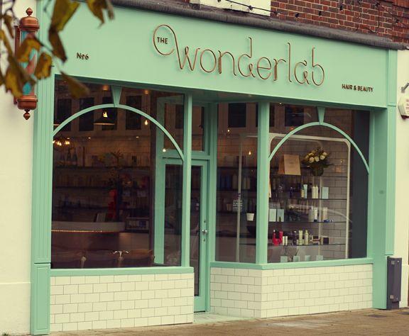 THE WONDERLAB HAIR & BEAUTY SALON DESIGN by ROAR CREATIVITY http://creativepool.com/ROARCREATIVITY