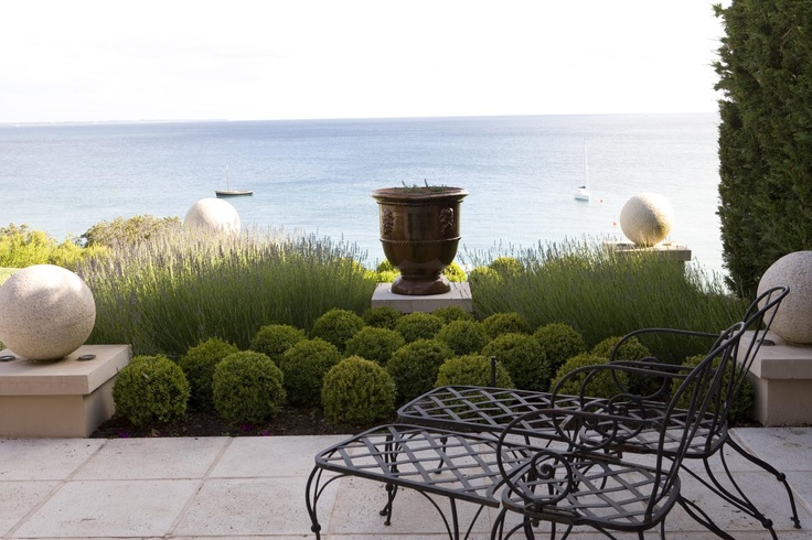 Mornington Peninsula, Victoria - Paul Bangay is one of Australia's most high profile landscape designers.