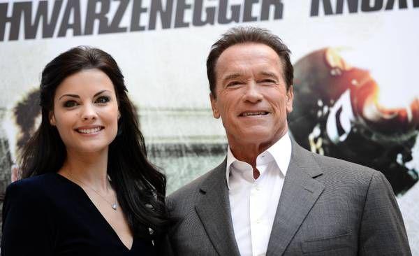 Jamie Alexander e Arnold Schwarzenegger