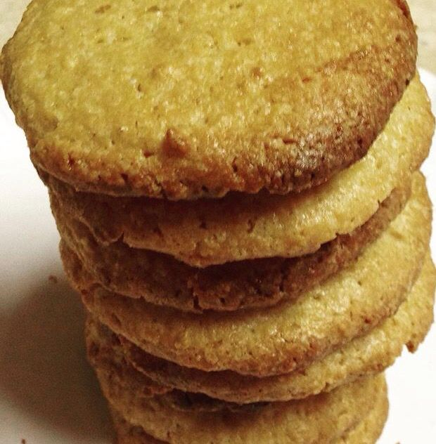 Low carb gluten free almond butter cookies