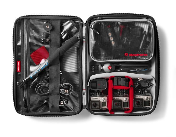#Manfrotto Off road Stunt action cameras large #hardcase