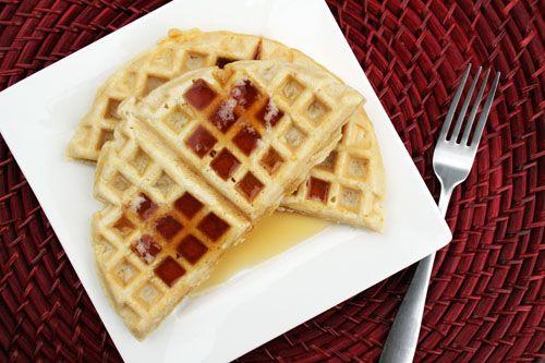 Almond Waffles @AbdulAziz Bukhamseen Week for Dinner