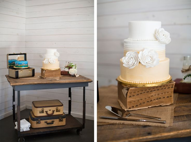 Cake Table Decor   Small Wedding Cake   Unique Grooms Cake   Vintage Cake Table Decor