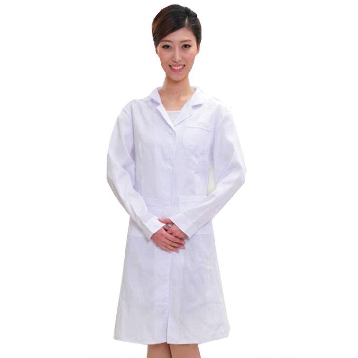 Medical uniforms hospital medical scrub clothes Long sleeves for women doctors under lab coat medical BLOUSE white coat #Affiliate