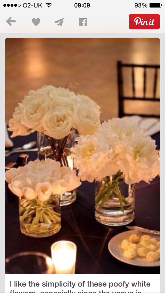 Simple but elegant flower ideas