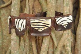 Heuptasje Zebra&Cow