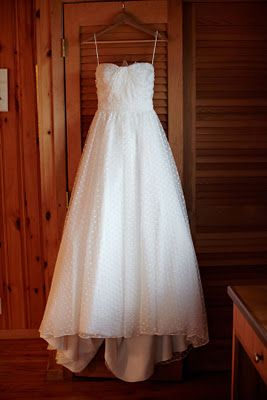 christos' swiss dot (maribel).  one of my favorite wedding dresses of all time <3