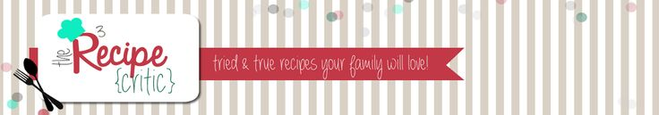 The Recipe Critic-such a great site for great recipes