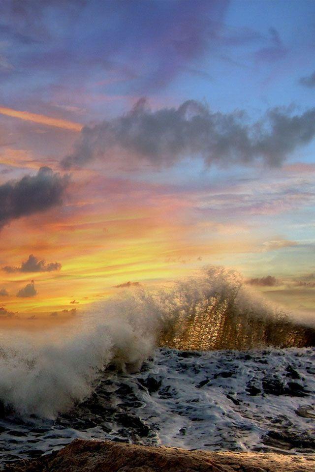 OceanWater, Sky, Nature, The Ocean, Beautiful, Ocean Crest, Ocean Waves, Sea, Life A Beach