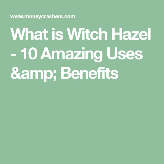 What is Witch Hazel - 10 Amazing Uses & Benefits