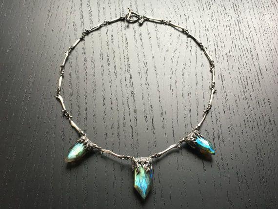Forest of Bones OOAK necklace by charlotteburkhart on Etsy