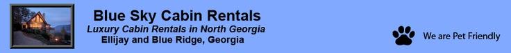 Blue Sky Cabin Rentals - Luxury Cabin Rentals in North Georgia - Ellijay and Blue Ridge, Georgia  We rent from them always!!!!!!!!!!!!